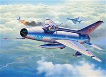 Macheta Avion Revell Mig-21 F-13 Fishbed C