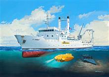 Macheta Vapor Revell Titanic Searcher Le Suroã®T - Rv5131