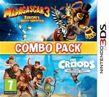 Madagascar 3 And The Croods Double Pack Nintendo 3Ds