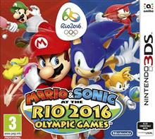 Mario And Sonic Rio 2016 Olympic Games Nintendo 3Ds