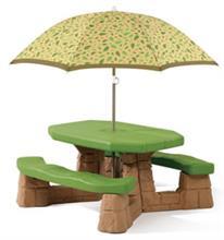 Masa Picnic Cu Umbrela Varianta Recolor