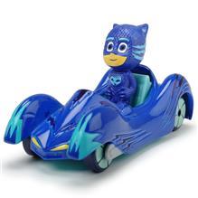 Masina Dicki Toys Eroi In Pijamale Cat-Car Cu Figurina