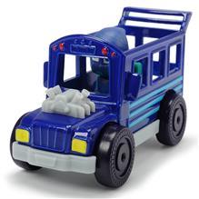 Masina Dicki Toys Eroi In Pijamale Night Ninja Bus Cu Figurina