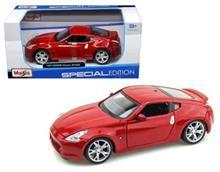 Masinuta Maisto 2009 Nissan 370Z Diecast Vehicle Red