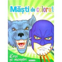 Masti De Colorat: Eroi Si Monstrii