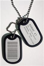 Medalion Hitman 2016 Agent 47 Dog Tags