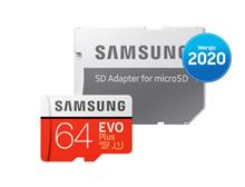 Memory Card Samsung Evo Plus Microsd 2020 64Gb (Mb-Mc64ha/Eu) imagine