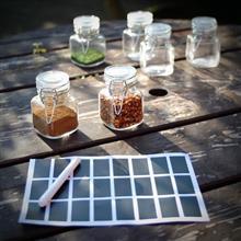 Mini Glass Spice Jars M&W 12 imagine