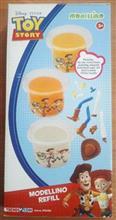 Modellino - Rezerva Pasta De Modelat - Toy Story -Woody Si Jessie