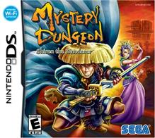 Mystery Dungeon Shiren The Wanderer Nintendo Ds