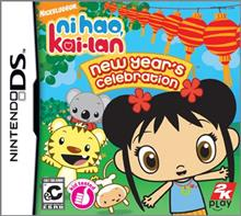 Nikelodeon Ni Hao Kai-Lan New Years Celebration Nintendo Ds
