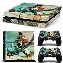 Official Street Fighter V Ps4 Console And Controller Sticker Skins Mitts