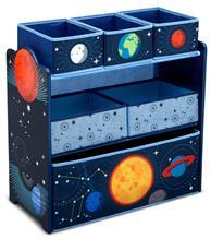 Organizator Jucarii Cu Cadru Din Lemn Space Adventures