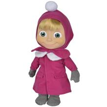 Papusa Cu Corp Moale Simba Masha And The Bear 40 Cm Masha Soft Doll