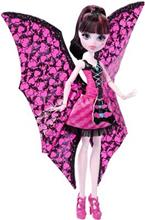 Papusa Monster High Ghoul-To-Bat Transformation Draculaura Doll