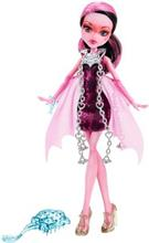 Papusa Monster High Haunted Getting Ghostly Draculaura
