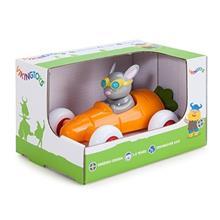 Pilot De Curse Iepuras In Masinuta Morcov - Cute Racer