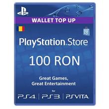 Playstation Network Card 100Lei (Psn Code Cont Ro)