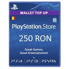 Playstation Network Card 250Lei (Psn Code Cont Ro)
