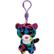 Plusuri Ty - Dotty Leopardul Multicolor Cu Clip - Ty35012
