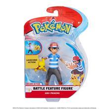 Pokemon 5 Inch Battle Figure Pack - Ash And Pikachu imagine