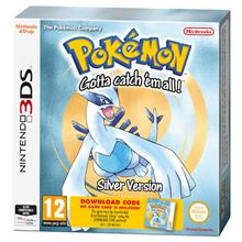 Pokemon Silver Version (Download Code) Nintendo 3Ds