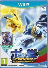 Pokken Tournament With Shadow Mewtwo Amiibo Card Nintendo Wii U