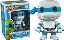 Pop Tmnt Leonardo Greyscale Limited Edition