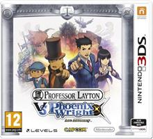 Professor Layton Vs Phoenix Wright Ace Attorney Nintendo 3Ds
