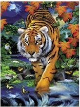 Puzzle 1000 Piese 3D - Tigru - 39185