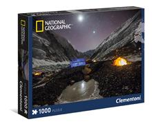 Puzzle 1000 Piese National Geographic Everest Camp Clementoni 39310