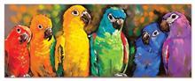 Puzzle 1000 Piese Papagali Curcubeu - Melissa And Doug