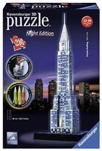 Puzzle 3D Chrysler Building Night Edition (216 Pcs)