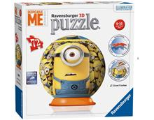 Puzzle 3D Minions 72 Piese