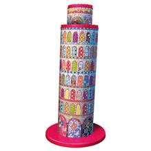 Puzzle 3D Turnul Din Pisa Colorat 216 Piese