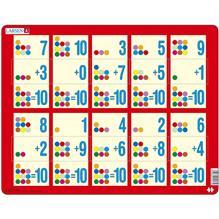 Puzzle Adunarea 1 - 10C 10 Piese Larsen Lrar13