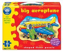 Puzzle De Podea Avion (30 Piese) Big Aeroplane
