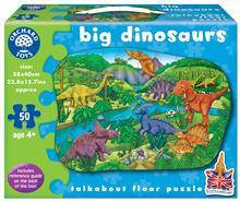 Puzzle De Podea Dinozauri (50 Piese) Big Dinosaurs