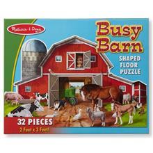 Puzzle De Podea Ferma Cu Animale