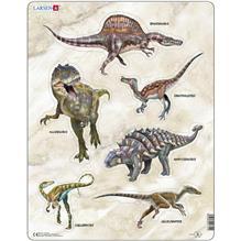 Puzzle Dinozauri 30 Piese Larsen Lrx12