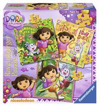 Puzzle Dora 25/36/49 Piese