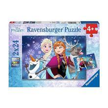 Puzzle Frozen (2X24 Pcs)