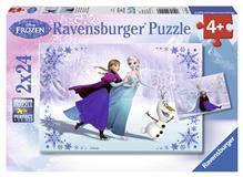 Puzzle Frozen Surori Pentru Totdeauna 2X24 Piese