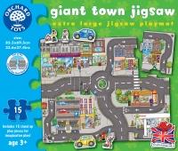 Puzzle Gigant De Podea - Orasul (15 Piese) - Orchard Toys (288)