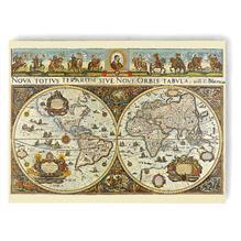Puzzle Harta Lumii In 1665 3000 Piese