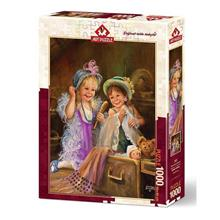 Puzzle Heidi Beauties In Attic Art Puzzle 1000 De Piese