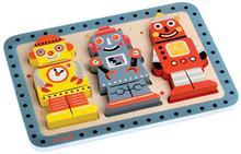 Puzzle In Relief - Roboti - Janod (J07026)