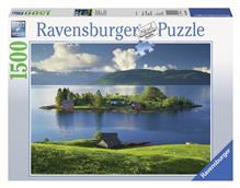 Puzzle Insula Din Hordaland Norvegia 1500 Piese