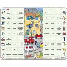 Puzzle Invatam Limba Engleza Nr10 54 Piese Larsen Lren10-Gb