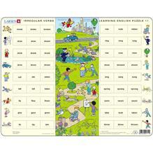 Puzzle Invatam Limba Engleza Nr11 54 Piese Larsen Lren11-Gb